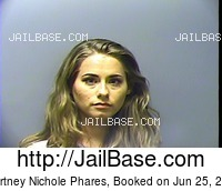 KOURTNEY NICHOLE PHARES mugshot picture