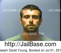JOSEPH DAVID YOUNG mugshot picture
