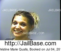 CHRISTINE MARIE QUALLS mugshot picture