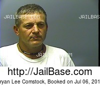 BRYAN LEE COMSTOCK mugshot picture