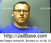 DARRELL DWIGHT ASHWORTH mugshot picture