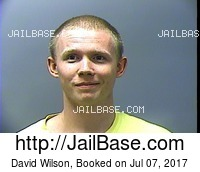DAVID WILSON mugshot picture