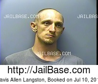 TRAVIS ALLEN LANGSTON mugshot picture