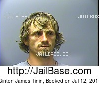 CLINTON JAMES TININ mugshot picture
