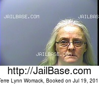 TERRE LYNN WOMACK mugshot picture