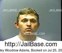 COLEY WOODROW ADAMS mugshot picture