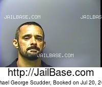 MICHAEL GEORGE SCUDDER mugshot picture