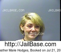 HEATHER MARIE HODGES mugshot picture