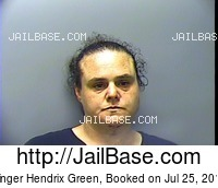 GINGER HENDRIX GREEN mugshot picture