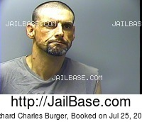 RICHARD CHARLES BURGER mugshot picture