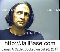 JAMES A CAPLE mugshot picture