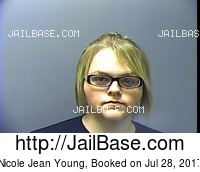 NICOLE JEAN YOUNG mugshot picture