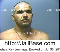 JOSHUA RAY JENNINGS mugshot picture