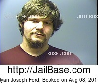 RYAN JOSEPH FORD mugshot picture