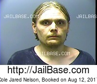 COLE JARED NELSON mugshot picture