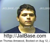 MASON THOMAS ARROWOOD mugshot picture