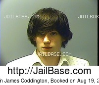 JUSTIN JAMES CODDINGTON mugshot picture
