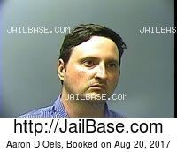 AARON D OELS mugshot picture