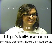KAITLYN MARIE JOHNSTON mugshot picture
