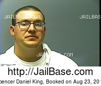 SPENCER DANIEL KING mugshot picture