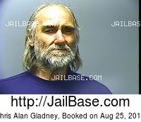 CHRIS ALAN GLADNEY mugshot picture