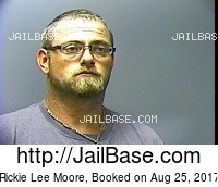RICKIE LEE MOORE mugshot picture