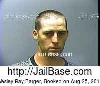 WESLEY RAY BARGER mugshot picture