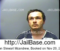 JASON STEWART MCANDREW mugshot picture