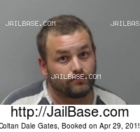 COLTAN DALE GATES mugshot picture