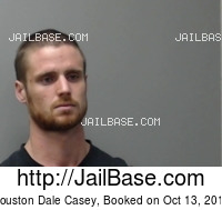 HOUSTON DALE CASEY mugshot picture