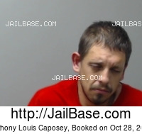 ANTHONY LOUIS CAPOSEY mugshot picture
