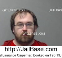 DANIEL LAURANCE CARPENTER mugshot picture