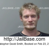 CHRISTOPHER DAVID SMITH mugshot picture