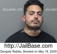 DANGELO ROBLES mugshot picture