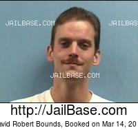 DAVID ROBERT BOUNDS mugshot picture