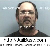 JAMES CLIFFORD RICHARD mugshot picture