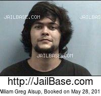WILLIAM GREG ALSUP mugshot picture