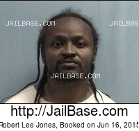 ROBERT LEE JONES mugshot picture
