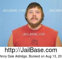 JOHNNY DALE ALDRIDGE mugshot picture