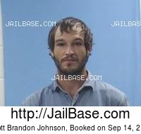 SCOTT BRANDON JOHNSON mugshot picture