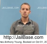 JAMES ANTHONY YOUNG mugshot picture