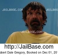 ROBERT DALE GREGORY mugshot picture