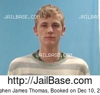STEPHEN JAMES THOMAS mugshot picture