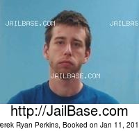DEREK RYAN PERKINS mugshot picture