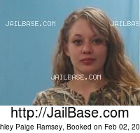 ASHLEY PAIGE RAMSEY mugshot picture