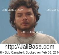 BILLY BOB CAMPBELL mugshot picture