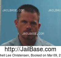 MITCHELL LEE CHRISTENSEN mugshot picture