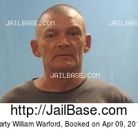 MARTY WILLIAM WARFORD mugshot picture