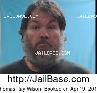 THOMAS RAY WILSON mugshot picture