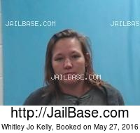 WHITLEY JO KELLY mugshot picture